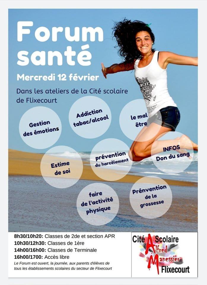 affiche-lycée-flixecourt-forum-santé
