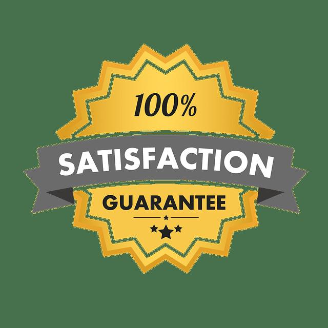 satisfaction-guarantie